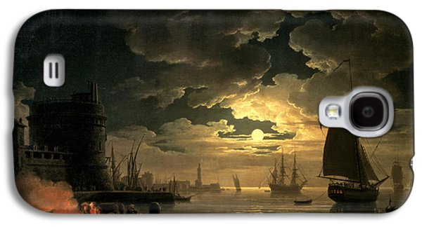 The Harbor Of Palermo Galaxy S4 Case by Claude Joseph Vernet