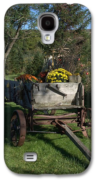Floral Jewelry Galaxy S4 Cases - The Harvest Wagon Galaxy S4 Case by BGR Photography