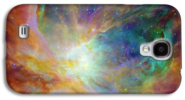 Abstracts Galaxy S4 Cases - The Hatchery  Galaxy S4 Case by The  Vault - Jennifer Rondinelli Reilly