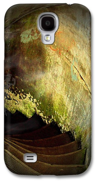 Ancient Galaxy S4 Cases - The Haunted Stairwell From The Past Galaxy S4 Case by Joyce Dickens