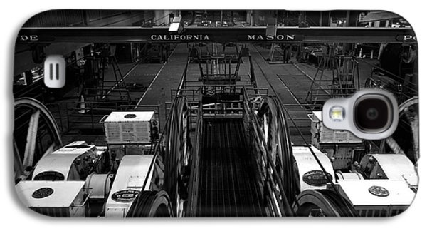 Mechanism Galaxy S4 Cases - The heart of San Francisco Cable-Car Galaxy S4 Case by RicardMN Photography
