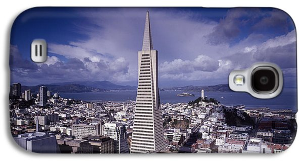 Downtown San Francisco Galaxy S4 Cases - The Heart of San Francisco Galaxy S4 Case by Mountain Dreams