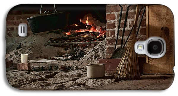 Crocks Galaxy S4 Cases - The Hearth - Fireplace Galaxy S4 Case by Nikolyn McDonald