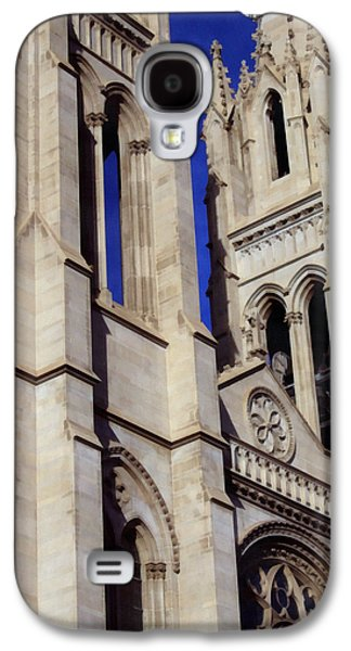 The Church Mixed Media Galaxy S4 Cases - The Heights Of The Cathedral Basilica of the Immaculate Conception Galaxy S4 Case by Angelina Vick