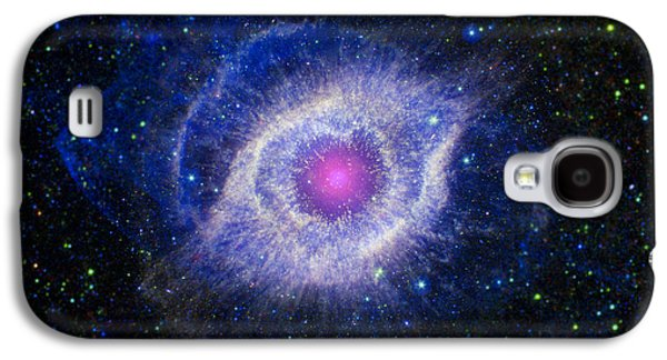 Stellar Galaxy S4 Cases - The Helix Nebula Galaxy S4 Case by Adam Romanowicz