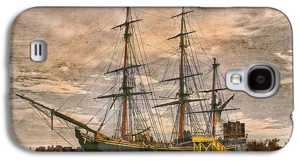 Waterscape Galaxy S4 Cases - The HMS Bounty Galaxy S4 Case by Debra and Dave Vanderlaan