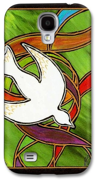 Religious Galaxy S4 Cases - The Holy Spirit Galaxy S4 Case by Jim Harris