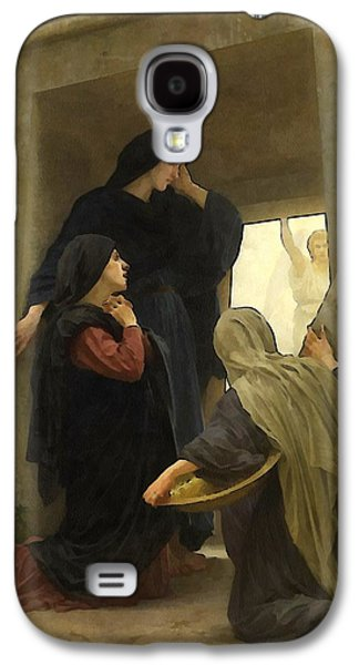 Christ Child Galaxy S4 Cases - The Holy Women at the Tomb Galaxy S4 Case by William Bouguereau