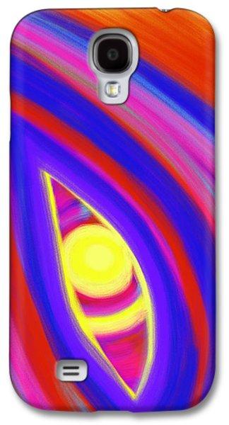Daina White Galaxy S4 Cases - The Horizon of Osirus Galaxy S4 Case by Daina White