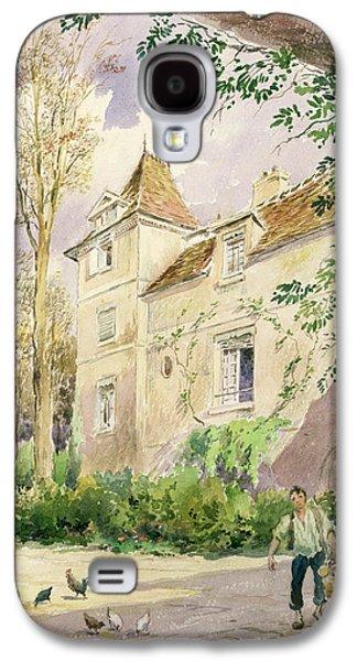 Haut Galaxy S4 Cases - The House of Armande Bejart Galaxy S4 Case by Henri Toussaint