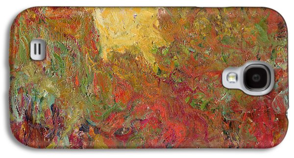 See Galaxy S4 Cases - The House seen from the Rose Garden Galaxy S4 Case by Claude Monet