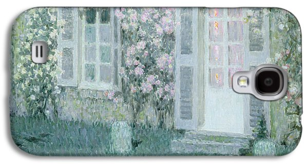 The House With Roses Galaxy S4 Case by Henri Eugene Augustin Le Sidaner
