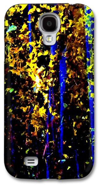 Deceptive Galaxy S4 Cases - The Illusion Of Trees Galaxy S4 Case by Tim Townsend