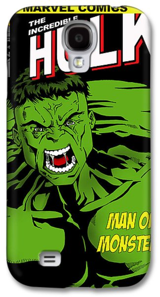 The Incredible Hulk Galaxy S4 Case by Mark Rogan