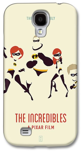 Animation Galaxy S4 Cases - The Incredibles Retro Galaxy S4 Case by Smile In The Mind