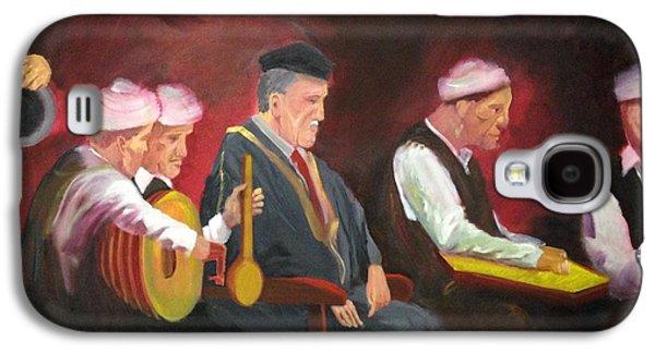 Baghdad Paintings Galaxy S4 Cases - The Iraqi maqam Galaxy S4 Case by Rami Besancon