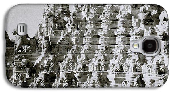 Religious Galaxy S4 Cases - Jain Sculpture Galaxy S4 Case by Shaun Higson