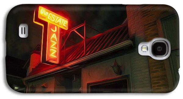 Entrance Door Galaxy S4 Cases - The Jazz Estate Galaxy S4 Case by Scott Norris