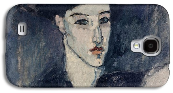 Sombre Galaxy S4 Cases - The Jewess Galaxy S4 Case by Amedeo Modigliani