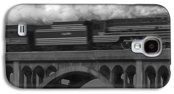 Rail Digital Art Galaxy S4 Cases - The John Wilks Galaxy S4 Case by Mike McGlothlen
