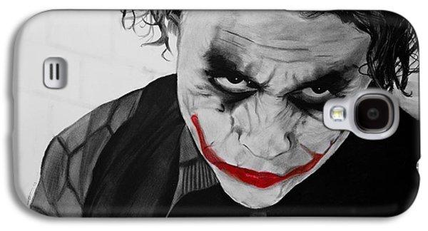 The Joker Galaxy S4 Case by Robert Bateman