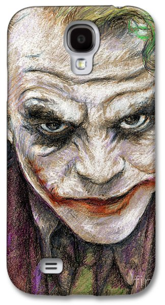 Etc. Drawings Galaxy S4 Cases - The Joker Galaxy S4 Case by Roy Aiuto