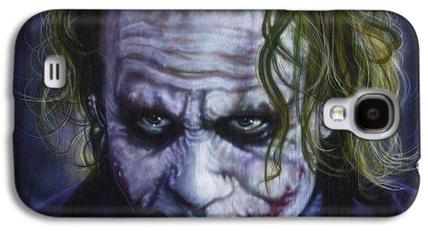 The Joker Galaxy S4 Case by Tim  Scoggins