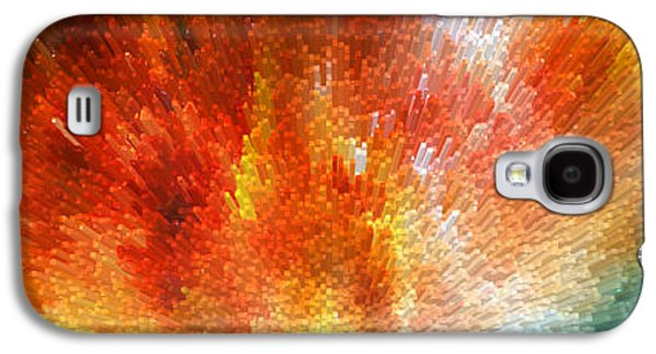 The Journey - Abstract Art By Sharon Cummings Galaxy S4 Case by Sharon Cummings