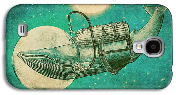 Green Drawings Galaxy S4 Cases - The Journey Galaxy S4 Case by Eric Fan