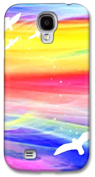 Astral Galaxy S4 Cases - The Journey Galaxy S4 Case by Munir Alawi