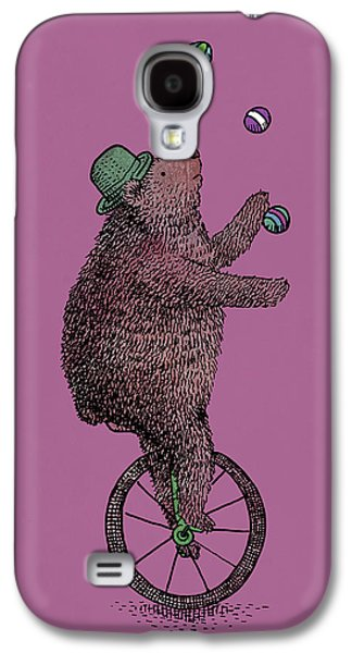 Juggling Drawings Galaxy S4 Cases - The Juggler Galaxy S4 Case by Eric Fan