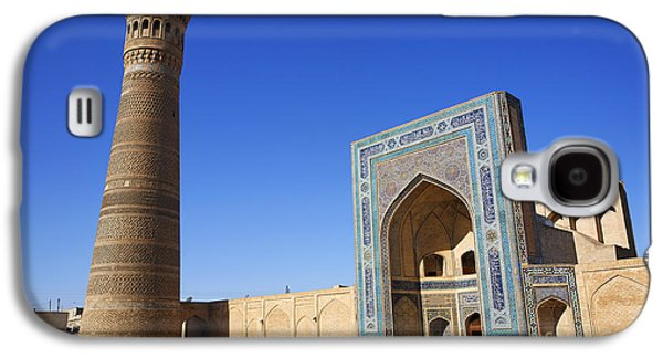 Religious Galaxy S4 Cases - The Kalon Minaret and the Kalon Mosque at Bukhara in Uzbekistan Galaxy S4 Case by Robert Preston