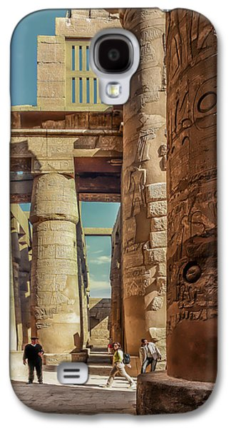 Civilization Galaxy S4 Cases - The Karnak Temple Galaxy S4 Case by Erik Brede