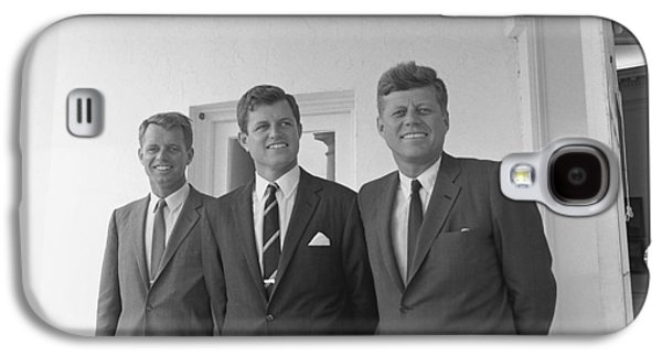 Democrats Galaxy S4 Cases - The Kennedy Brothers Galaxy S4 Case by War Is Hell Store