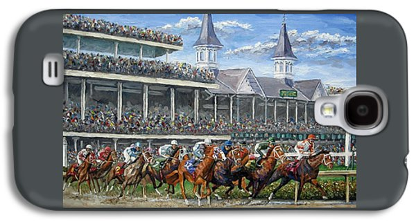 The Kentucky Derby - Churchill Downs Galaxy S4 Case by Mike Rabe