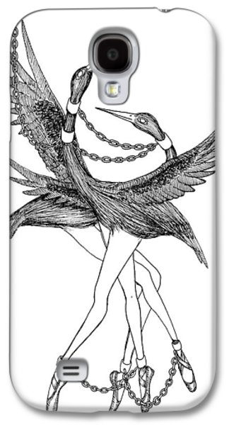 Slaves Drawings Galaxy S4 Cases - The Kings Dancers Galaxy S4 Case by Iris Moore