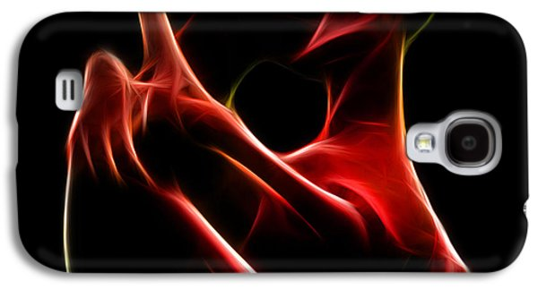Recently Sold -  - Abstract Digital Digital Galaxy S4 Cases - the Kiss Galaxy S4 Case by Taylan Soyturk