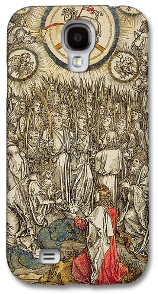 The Lamb Of God Appears On Mount Sion, 1498  Galaxy S4 Case by Albrecht Durer or Duerer