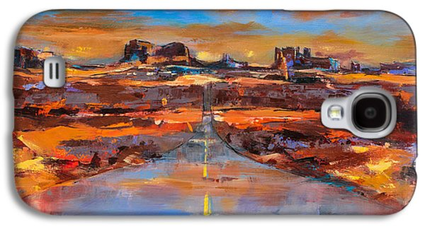 Monument Galaxy S4 Cases - The Land of Rock Towers Galaxy S4 Case by Elise Palmigiani