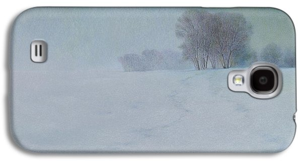 Trees In Snow Galaxy S4 Cases - The Last Snow Galaxy S4 Case by Lynn Bywaters