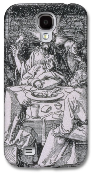 Last Supper Galaxy S4 Cases - The Last Supper Galaxy S4 Case by Albrecht Durer or Duerer