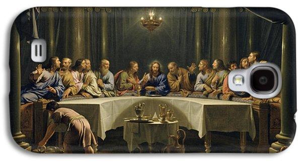 Last Supper Galaxy S4 Cases - The Last Supper Galaxy S4 Case by Jean Baptiste de Champaigne