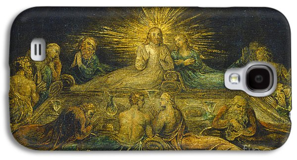 Religious Galaxy S4 Cases - The Last Supper Galaxy S4 Case by William Blake