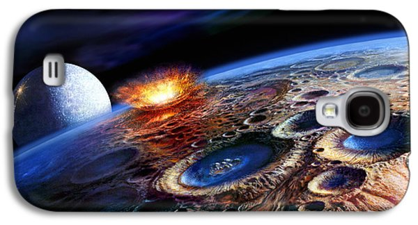 The Late Heavy Bombardment Galaxy S4 Case by Don Dixon