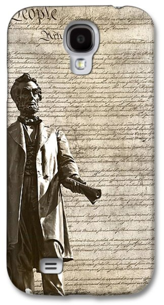 Proclamation Galaxy S4 Cases - The Law Galaxy S4 Case by Dan Sproul