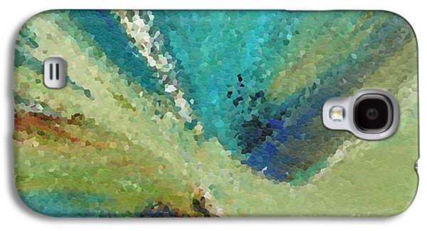 Purple Abstract Beige Galaxy S4 Cases - The Law of Opposition. Revelation 2 7 Galaxy S4 Case by Mark Lawrence