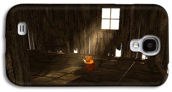 Interior Scene Mixed Media Galaxy S4 Cases - The Left Behind... Galaxy S4 Case by Tim Fillingim