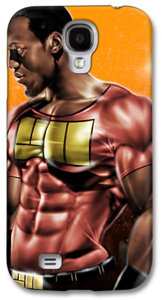Will Power Galaxy S4 Cases - The Legend of Will Power Galaxy S4 Case by Pete Tapang