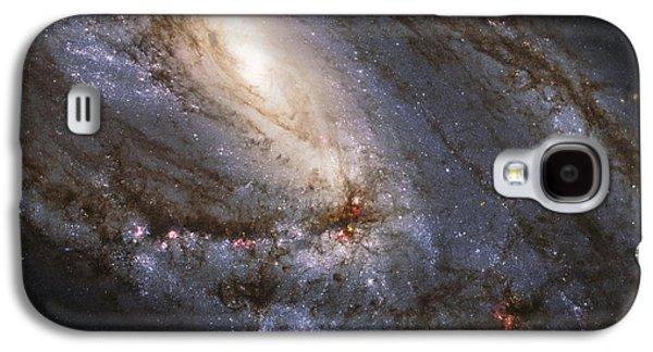 Stellar Galaxy S4 Cases - The Leo Triplet Galaxy S4 Case by Adam Romanowicz