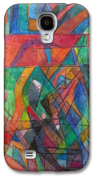 Inner Self Galaxy S4 Cases - The Letter Dalet 2 Galaxy S4 Case by David Baruch Wolk